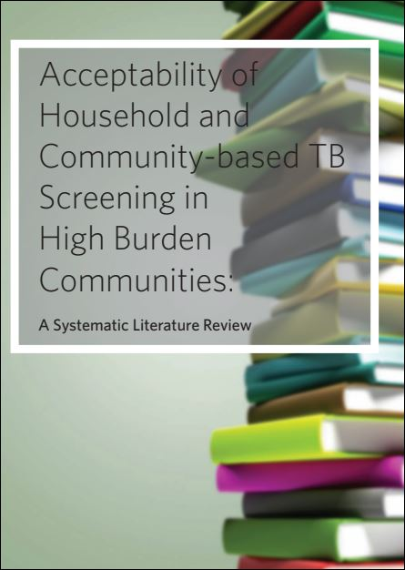 Acceptability of Household and Community-based TB Screening in High Burden Communities: A Systematic Literature Review