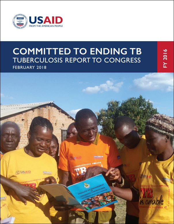 Committed to Ending TB: Tuberculosis Report to Congress FY 2016